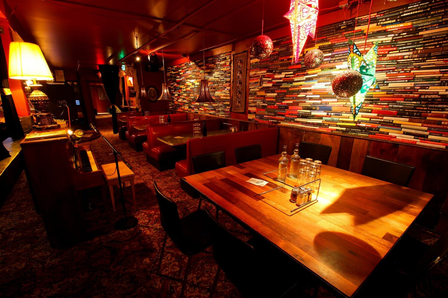 Secret Stash Pizza - Crested Butte, CO - The Red Room Night Club